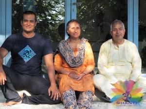 Shanti - stage été 2013 - Amir, Ajit et Selvi