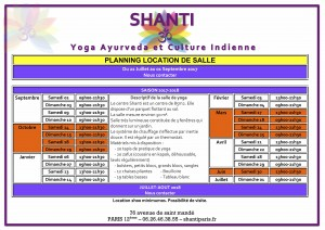 planning shantiparis.fr - location de salle - juillet 2017 à août 2018 - web